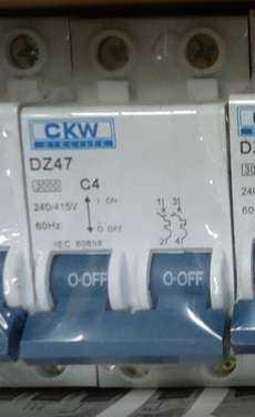 Disjuntor (modelo: DZ47 C4)