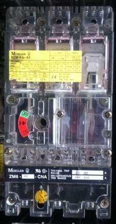 Chave elétrica (modelo: NZM6b-63)