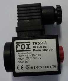 marca: Fox modelo: TR593 estado: novo