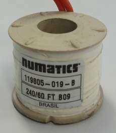 Bobina (modelo: 119805019B) para válvula pneumática