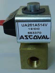 Válvula solenóide (modelo: UA261A514V)