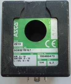 marca: Asco modelo da válvula: SC8327B151 estado: seminova