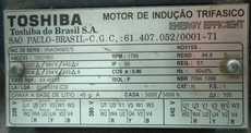 Motor elétrico (modelo: 180HP)