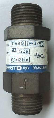marca: Festo modelo: H38B 11690 estado: nunca foi utilizada