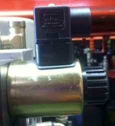 Bobina (modelo: IP65) para válvula hidráulica
