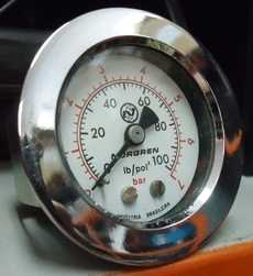 Manometro (escala: 100lb/pol2 7BAR)