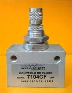 marca: Werk Schott modelo: 3/8X3/8 7104CF estado: novo