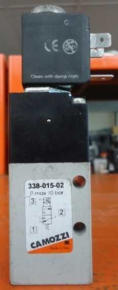 Válvula pneumática (modelo: 33801502)