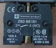 Bloco p/ botão (modelo: ZB2BE10134NO)