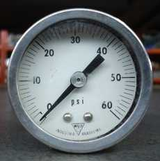 Manometro (escala: 60PSI)