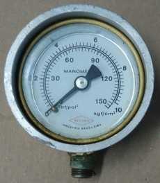 Manometro (escala: 150lbf/pol2 10kgf/cm2)