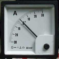 Amperimetro (escala: 30AMP)