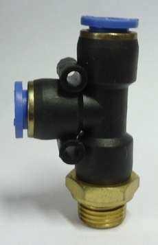 ConexãoT rosca lateral (modelo: 1/4X8mm)