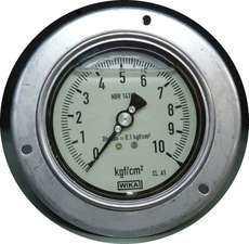 Manometro (escala: 10kgf/cm2)