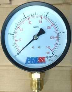 Manometro (escala: 140PSI 10kg/cm2)