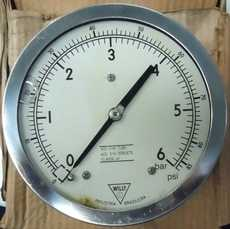 Manometro (escala: 6BAR 85PSI)