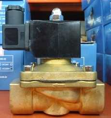Válvula solenóide (modelo: 2W250-25 1pol)
