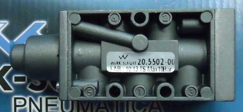 marca: Werk Schott <br/ >modelo: 20550200 <br/ >estado: nova