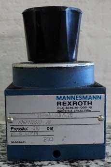 marca: Rexroth modelo: 2FRM531B12Q 210bar 10L/MIN reguladora de vazão estado: usada, precisa fazer a chave