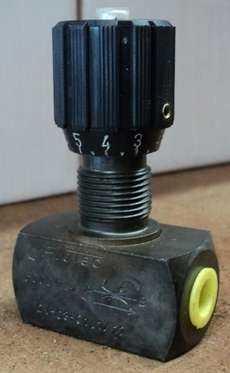 Válvula hidráulica de controle de fluxo (modelo: DV0801.1/12)