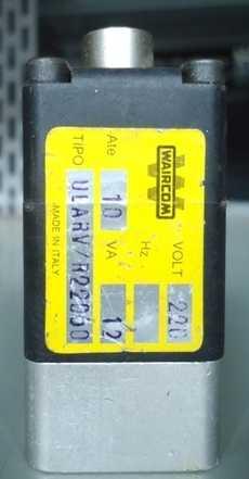 Válvula pneumática (modelo: ULARV/R22060)