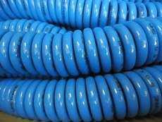 Tubo em poliuretano espiralado (modelo: 8SHM 5metros)