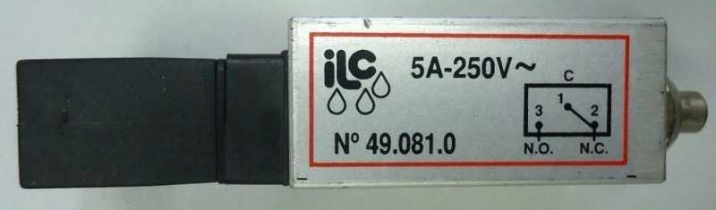 marca: ILC <br/>modelo: 490810 5A-250V <br/>estado: seminova