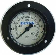 Manometro com flange (modelo: 160PSI 11KGF/CM2)