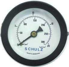 Manometro (escala: 300lbf/pol2 20kgf/cm2)
