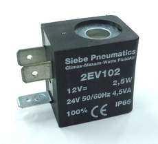 Bobina (modelo: 2EV102) para válvula pneumática