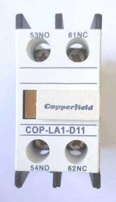 Contator auxiliar (modelo: COP-LA1-D11)