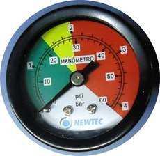 Manômetro (modelo: NEWTEC)