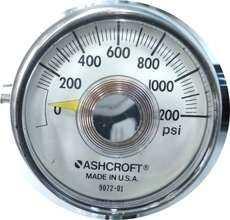 Manometro (escala: 1200PSI)