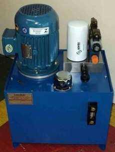 Unidade hidráulica com filtro no bloco (motor elétrico: 3HP)