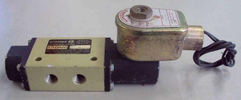 marca: Norgren <br/>modelo: T71DA00 5vias 24V - 10,4 bar<br/>estado: usada