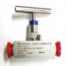 Válvula de agulha (modelo: NVA1021 1/2NPT)