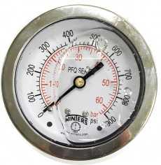Manometro (PFQ909R1R11S modelo: 60BAR 900PSI)