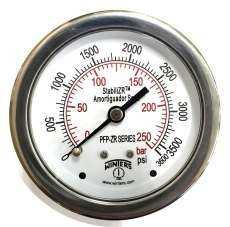 Manômetro (PFP931ZRR1R11S1 escala: 250BAR 3600PSI )