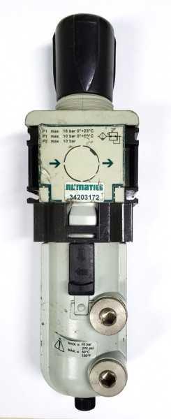 marca: NUMATICS <br/>modelo: 34203172 <br/>pressão máxima: 16 BAR / 220 PSI <br/>temperatura máxima: 50C
