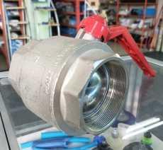 Válvula de esfera (modelo: PN15 G 3 polegadas)