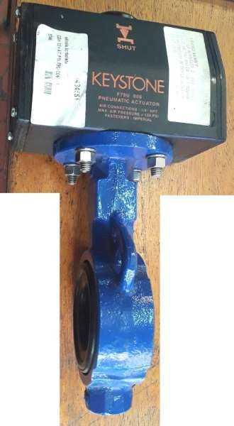 marca: KEYSTONE <br/>modelo: F79U006 2 polegadas com acionamento pneumático <br/>conexões: 1/4NPT <br/>estado: seminova