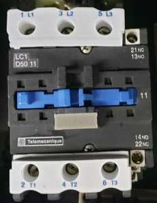 Contator (modelo: LC1D5011)