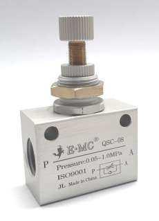 Válvula reguladora de fluxo (modelo: QSC08)