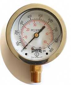 Manômetro (PFQ809R1R11S escala: 60BAR 900PSI)